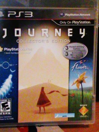 PS3 Journey Collector's Edition
