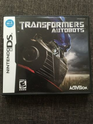 Transformers: Autobots Video Game (Nintendo DS, 2007) PAY FOR SHIPPING