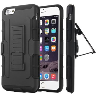 1 NEW APPLE iPHONE 7 PLUS Phone Case Holster & Clip Kick Stand Scratch-Resistant Shock Absorbent