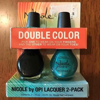 OPI Double Color Nail Polishes