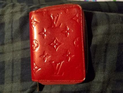Louis Vuitton small red wallet