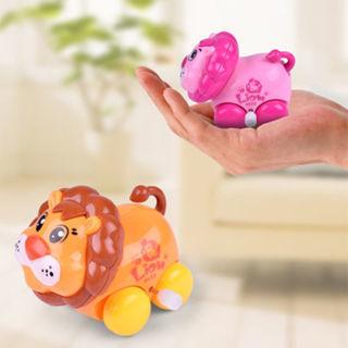 Colorful Lovely Plastic Cartoon Animal Clockwork Wind Up Toy Children Gift