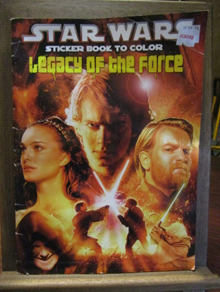 Star Wars Coloring Book w/Stickers