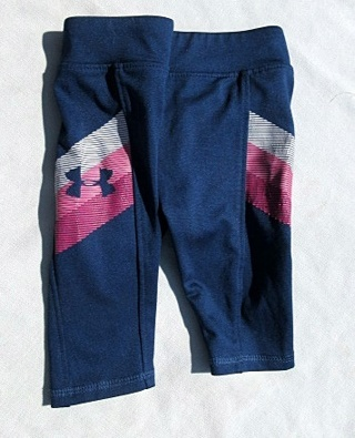 Under Armour Spandex Pants - Size 9 - 12 months - FREE Shipping w GIN