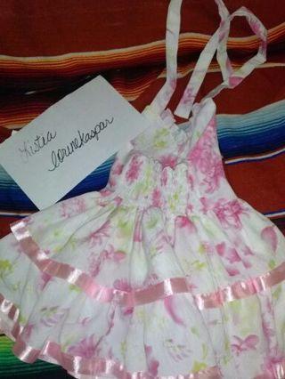 (2) Floral Halter Dresses for Girls
