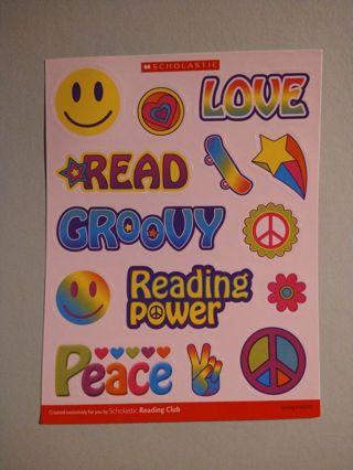 Groovy Sticker Sheet
