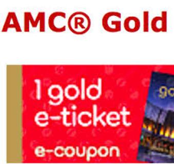 AMC TheatresR AMCR Gold E Ticket