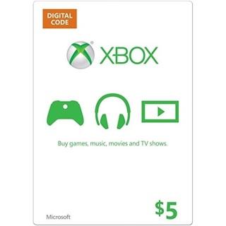 $5 Xbox Gift Card USA