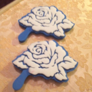 Rose foam stampers
