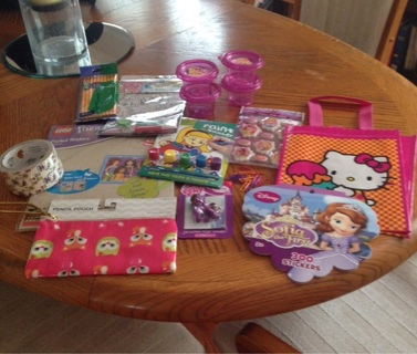 Large Lot of Girls School Supplies, Stickers, Crafts, and More