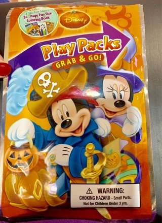 Brand New Gift Quality Hard to Find Disney Halloween Play Pack w Mickey Mouse & Minnie