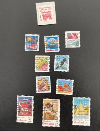 US stamp 1987 (#3)