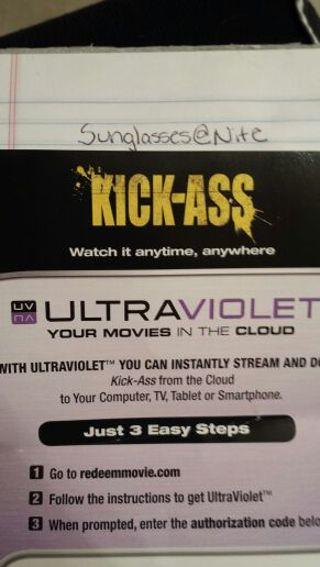 Kick-Ass UV HD Code ( Vudu )