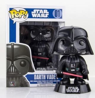 NEW Funko Pop Star Wars Darth Vader Bobble Head Vinyl Figure Toy Collectible FREE SHIPPING