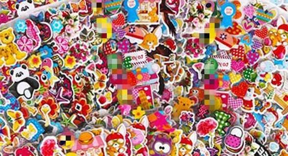 15 random stickers