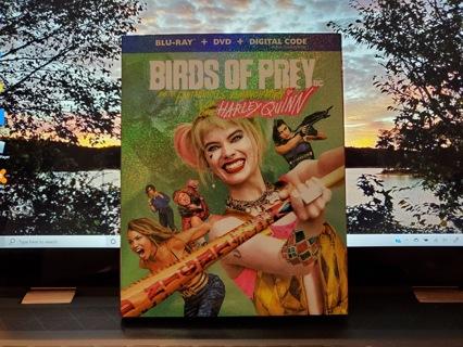 Birds of Prey Blu-Ray + DVD Set
