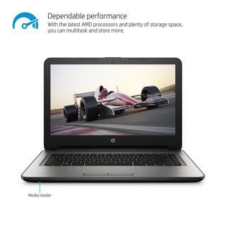 "NEW! HP 14"" Notebook (AMD E2, 4GB RAM, 32 GB Hard Drive) Windows 10. FREE SHIP!"