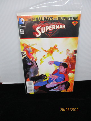 THE FINAL DAYS OF SUPERMAN #52