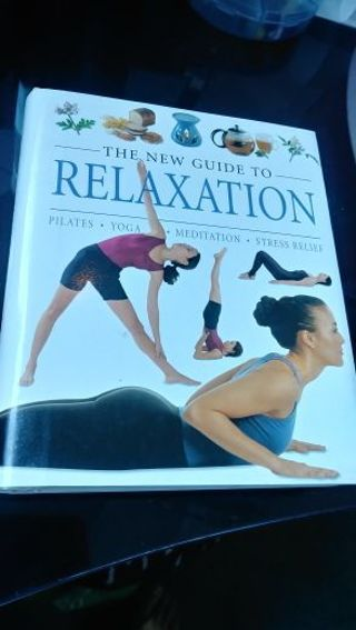 Book- The New Book of Relaxation- hardcover