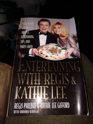 Entertaining with Regis & Kathie Lee by Philbin & Gifford (paperback)