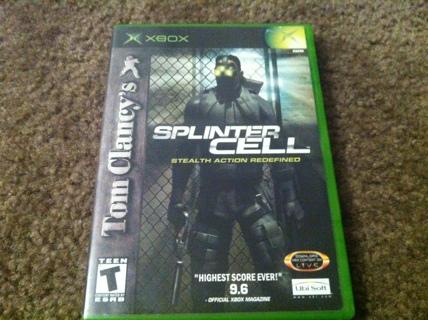 Splinter Cell XBOX Game