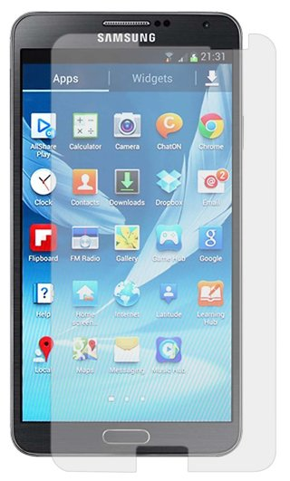 SAMSUNG Galaxy Note 3 cell phone Clear Screen Protector FREE GIFT