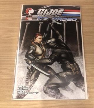 G.I. Joe A REAL AMERICAN HERO Reloaded #4 DDP comics