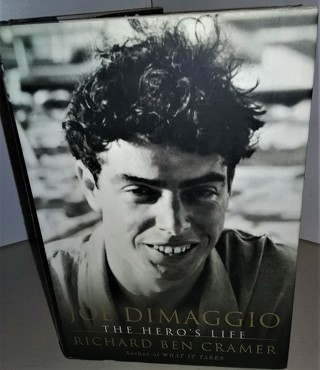 "2000 ""Joe DiMaggio - The Hero's Life"" by Richard Ben Cramer - 548 pages - many pages of photos"