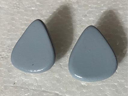 Tear Drop Stud Earrings