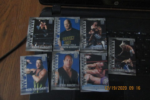 7 - 2002 ALL ACCESS WWF WRESTLING CARDS