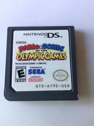 MARIO AND SONIC AT THE OLYMPIC GAME for Nintendo DS (NTR-AY9E-USA)