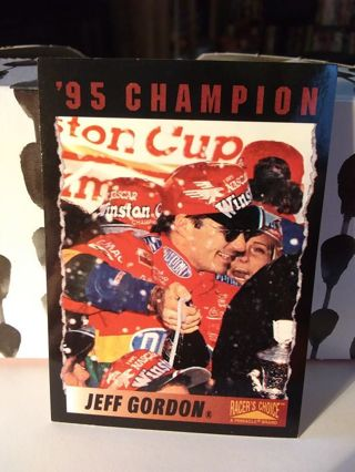Nascar. Racing Trading Card Jeff Gordon