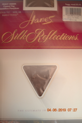 ****NIP HANES SILK REFLECTIONS PANTYHOSE***FREE SHIPPING