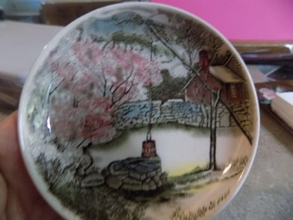Johnson Brothers of England mini plate well, cherry tree
