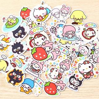 40pcs Creative kawaii self-made love Sanrio girl stickers beautiful stickers /decorative sticker /