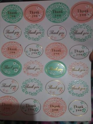 Thank you one sticker sheet No refunds! Good quality! Lowest gins always bonus! No lower