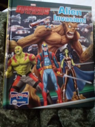 New Guardians of the Galaxy Alien Invasion Book