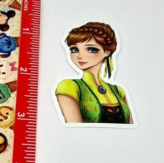 Princess Anna Frozen Large sticker decal NEW