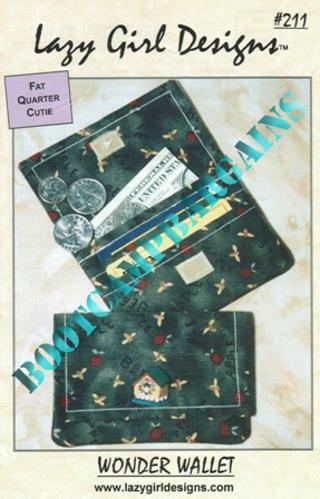Free: Lazy Girl Designs #211 Wonder Wallet Sewing Pattern - Sewing ...