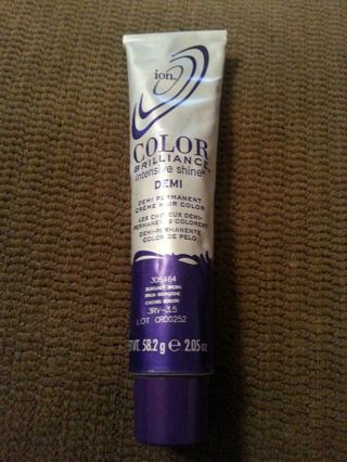 Free Ion Color Brilliance Intensive Shine Demi Burgundy Brown Hair