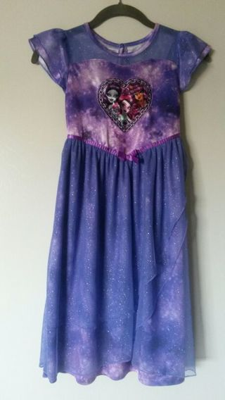 MONSTER HIGH girl dress size M - 7 / 8