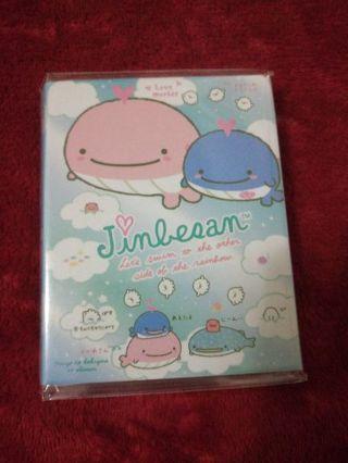 Kawaii jinbesan 4 fold memo booklet #2