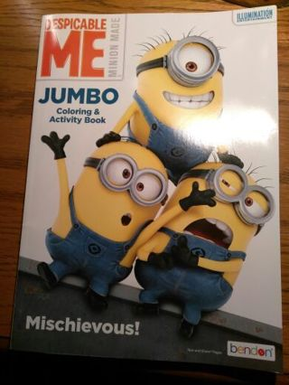 Despicable Me Jumbo Minion Coloring & Activity Book(s) - GIN BONUS (Free Ship)