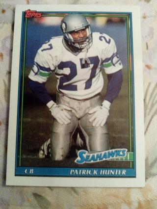 Topps #272 Patrick Hunter