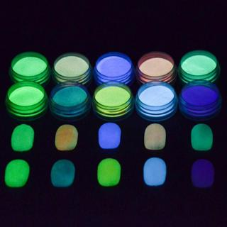 Glow In The Dark Powder Fluorescent Luminescent Noctilucent Nail Art Pigment