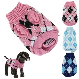 sweater for autumn winter warm knitting crochet clothes for dog chihuahua