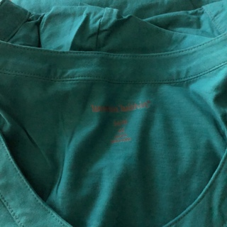 BNIP Size 4x (34/36) Teal Green, Short Sleeved Top 100% Cotton. Pleated Front. So Pretty!