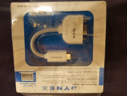 Brand new DYNEX Apple Notebook mini-DVI-to-VGA Adapter Model:  DX-AP110