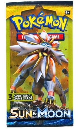 NEW Pokemon XY SUN & MOON Card Pack TCG Pokemon Cards Solgaleo Booster Pack Hobby Collectible