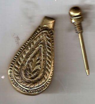 Gold-Tone CONTAINER Pendant